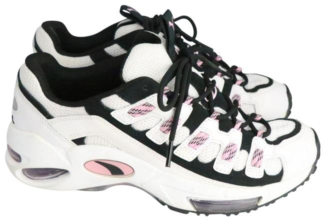 Item - White/Black/Pink Cell Endura Sneakers Size US 10 Regular (M, B)
