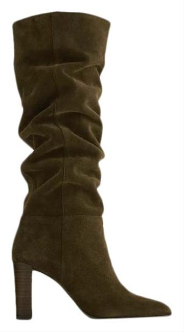 Item - Green Over Knee High Shaft Split Leather 2008/610 Boots/Booties Size US 9 Regular (M, B)