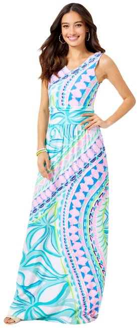 Item - Teal Marco Long Casual Maxi Dress Size 8 (M)