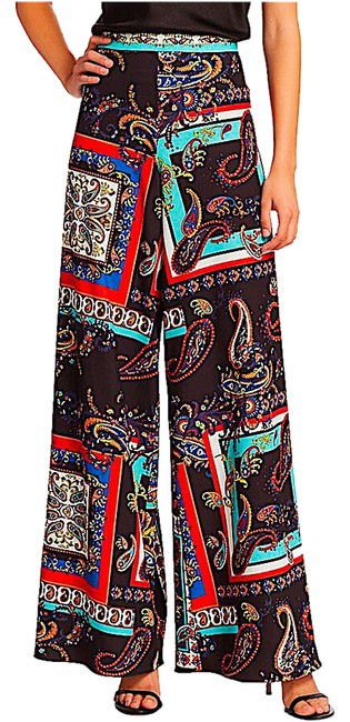 Item - Multi with Tag Athena Paisley Trousers Pants Size 0 (XS, 25)