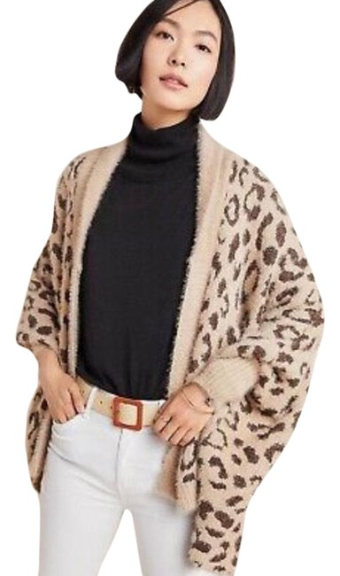 Item - Louise Anthropologie Leopard Wrap O/S Cardigan Size OS (one size)
