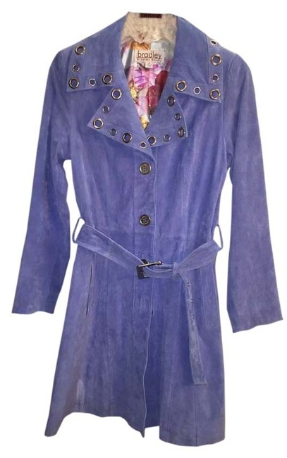 Preload https://item5.tradesy.com/images/blue-trench-coat-size-2-xs-2864119-0-0.jpg?width=400&height=650