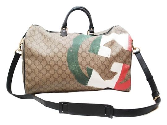 Preload https://img-static.tradesy.com/item/2864122/gucci-limited-waterproof-gg-carry-on-duffle-travel-brown-canvas-beach-bag-0-0-540-540.jpg
