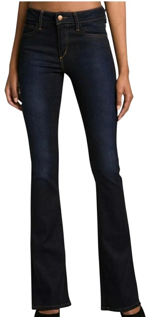 Item - Blue Dark Rinse The Visionnaire Stretch Tallulah Boot Cut Jeans Size 29 (6, M)