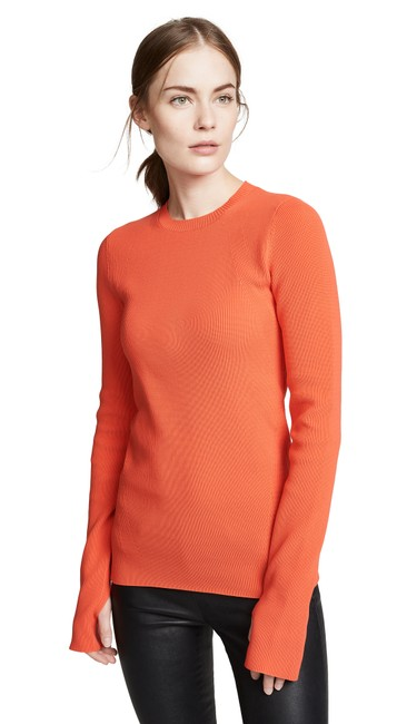 Item - Crewneck Knit New Magma (Orange) Sweater