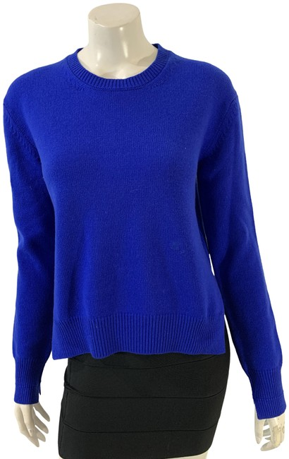 Item - 36221 Royal Cashmere Crew Neck Blue Sweater