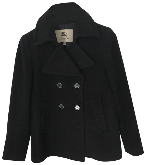 Item - Grey Wool & Cashmere Peacot Coat Size 4 (S)