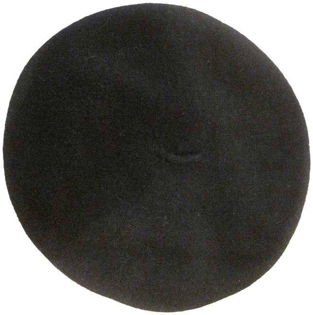 Item - Black Wool Blend Women's Beret New Hat