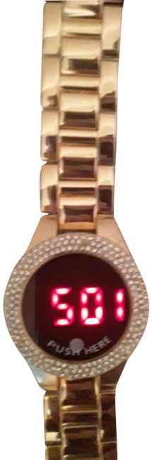 Item - Rose Gold Ny and Co Digital Adjustable Watch