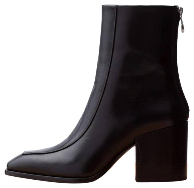 "Item - Black ""Lidia 80mm"" Leather Ankle Boots/Booties Size EU 40 (Approx. US 10) Regular (M, B)"