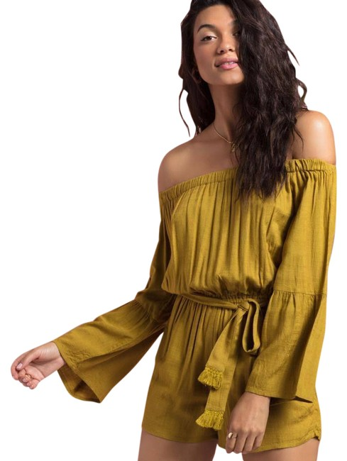 Item - Yellow Miranda Romper/Jumpsuit