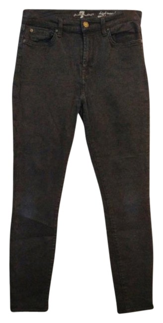 Item - Black Dark Rinse Gwenevere High Ankle Skinny Jeans Size 27 (4, S)