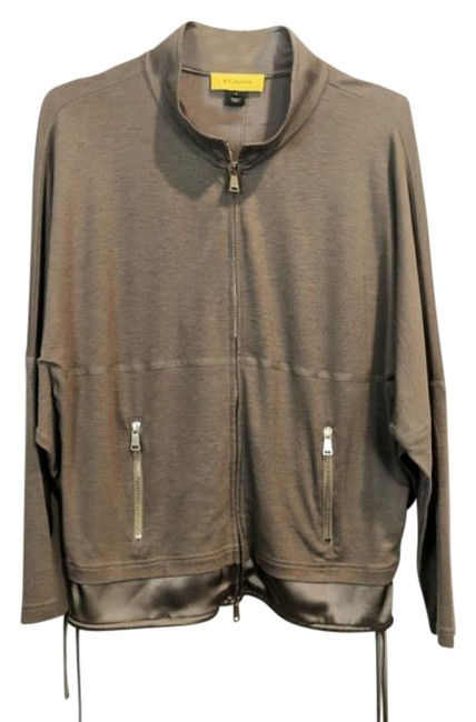 Item - Light Brown Bomber Dolman Drop Sleeve Jacket Size 6 (S)