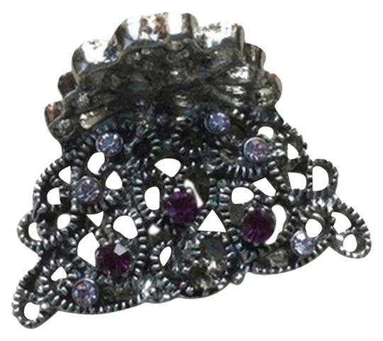 Other Mini metal Crystal Jaw Hair Clip