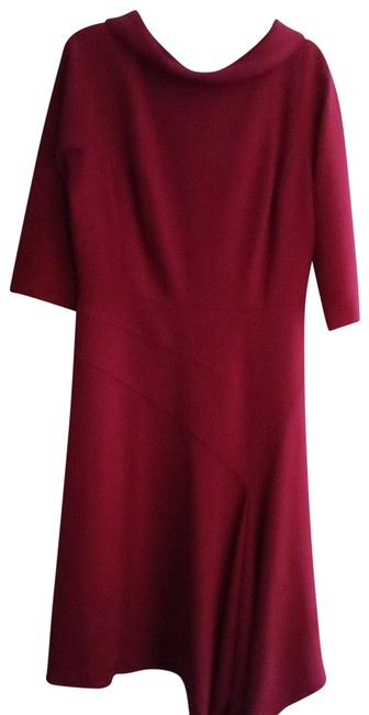 Item - Red Mid-length Work/Office Dress Size 10 (M)