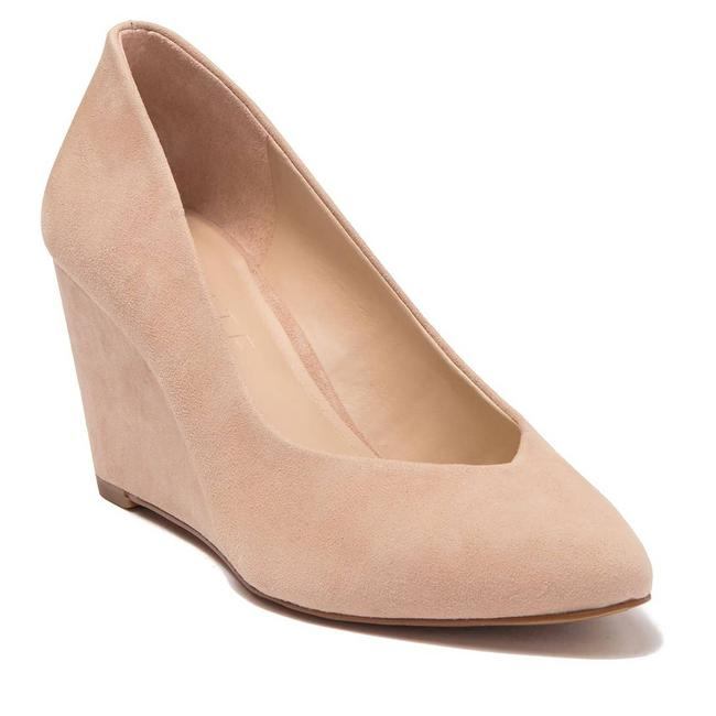 Item - Cream Maeve Wedge Petal Lux Kid Suede 8.5m Pumps Size US 8.5 Regular (M, B)