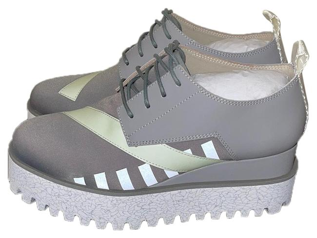 Item - Grey Na Wedges Size EU 36 (Approx. US 6) Regular (M, B)