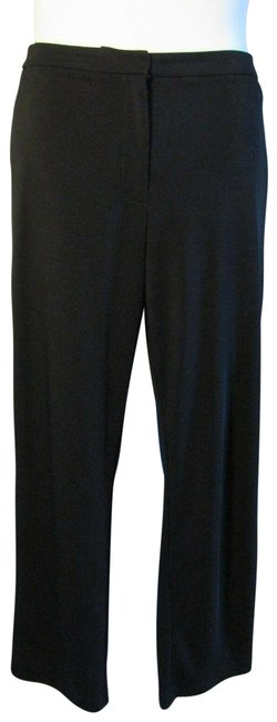 Item - Black Slacks Trousers Stretch Pants Size 16 (XL, Plus 0x)