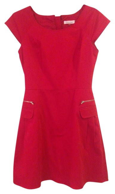 Preload https://item4.tradesy.com/images/calvin-klein-red-fun-flirty-classic-standout-versatile-above-knee-cocktail-dress-size-4-s-2864638-0-0.jpg?width=400&height=650