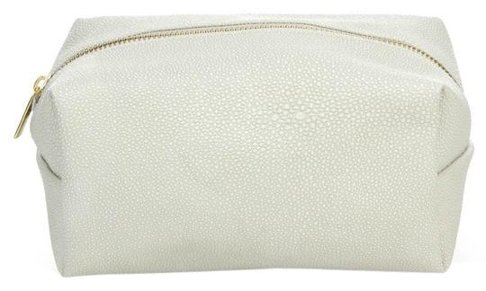 Preload https://item2.tradesy.com/images/saks-fifth-avenue-white-pebble-textured-makeup-cosmetic-bag-2864641-0-0.jpg?width=440&height=440