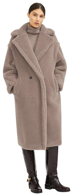 Item - Taupe Teddy Bear Icon Coat Size 0 (XS)