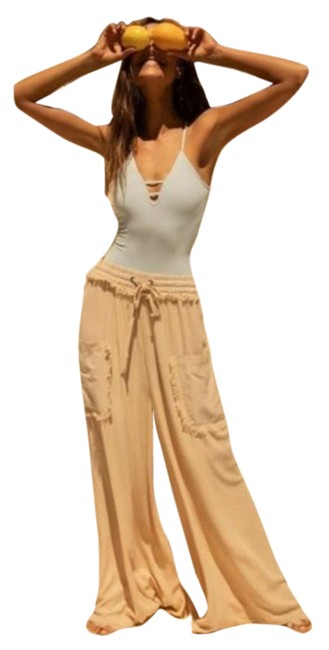 Item - Tan Sure Thing Pants Size 4 (S, 27)