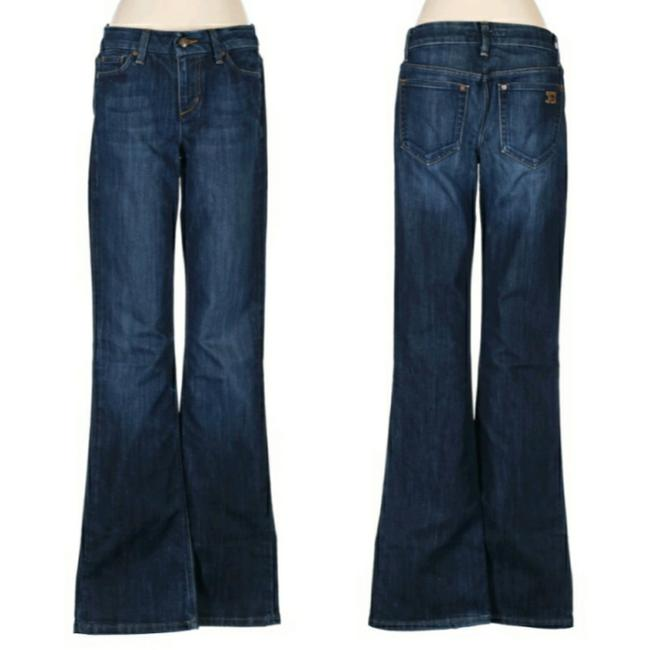 Item - Dark Wash Rinse Muse Fit Nico Flare Leg Jeans Size 26 (2, XS)