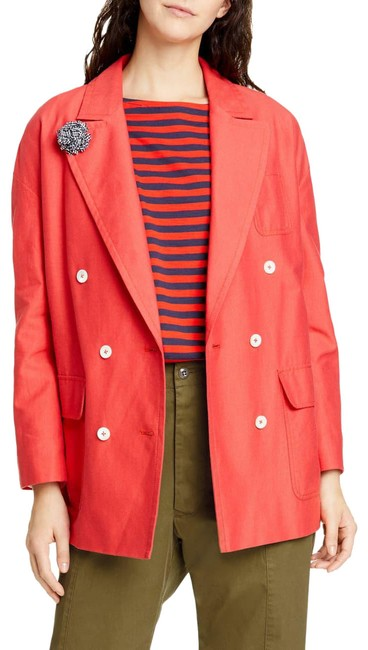 Item - Red Tomato Double Breasted Oxford Blazer Coat Size 8 (M)