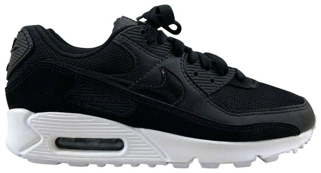 Item - Black White Twist Air Max 90 Running Lace Up Sneakers Size US 6.5 Regular (M, B)