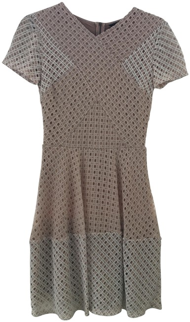 Item - Pale Pink/White Short Casual Dress Size 0 (XS)