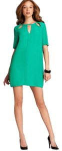 BCBG short dress Kelly Green on Tradesy