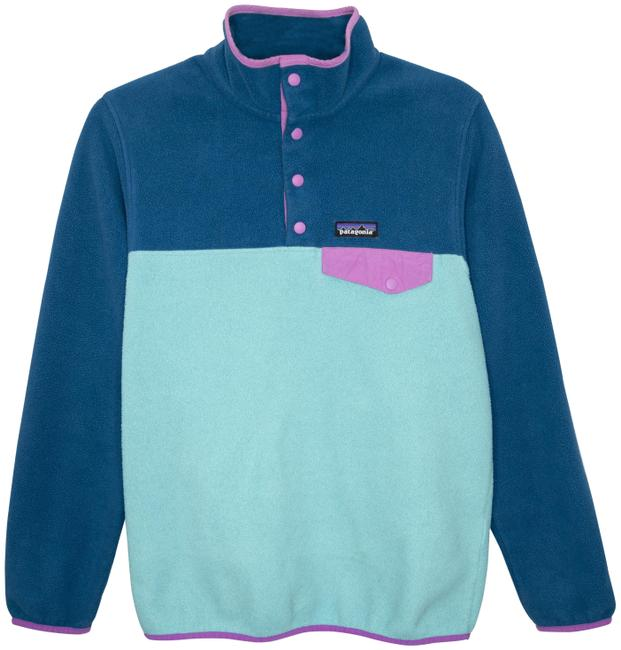Item - Blue Synchilla Snap Pullover Jacket Size 4 (S)