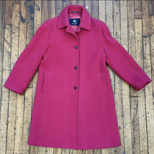 Item - Magenta Vintage Tweed Coat Size 12 (L)