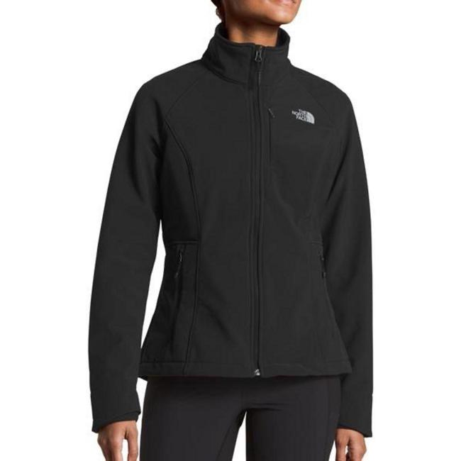 Item - Black Apex Bionic Full Zip Softshell Classic Fit Polartech Fleece Coat Size 8 (M)