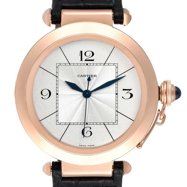 Item - Silvered Box Pasha 42 Dial Rose Gold Mens W3019351 Papers Watch