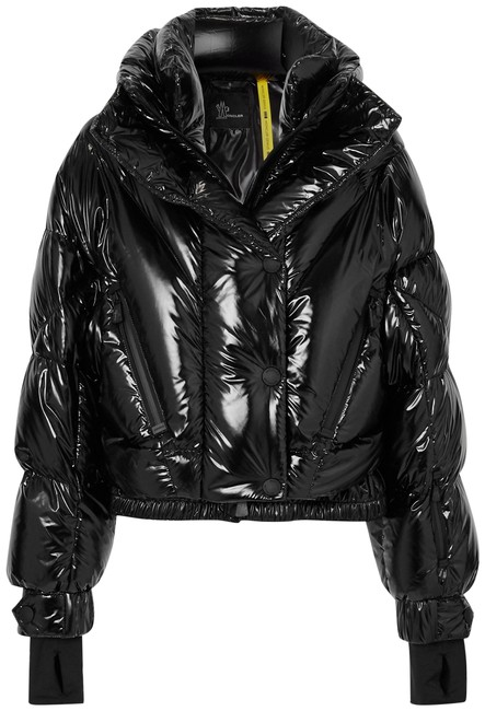 Item - Black Genius Giubbotto Quilted Down Jacket Coat Size 0 (XS)