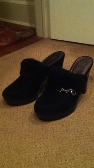 Coach Idyle black Mules