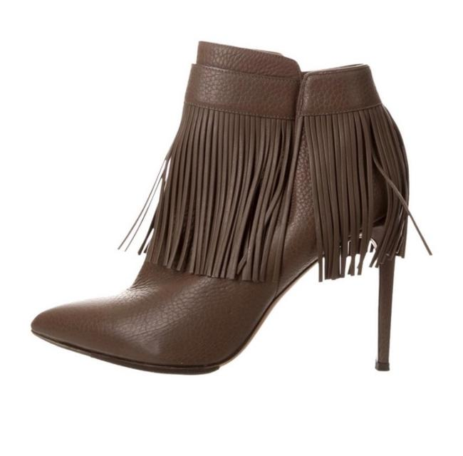 Item - Taupe Rockee Fringe Boots/Booties Size EU 38 (Approx. US 8) Regular (M, B)