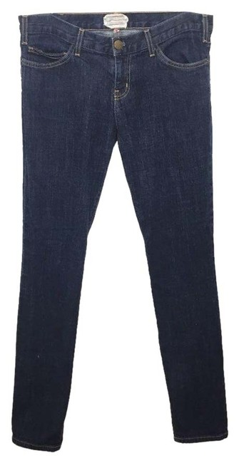 Item - Blue Dark Rinse The 1968 One Wash Mid Skinny Jeans Size 29 (6, M)