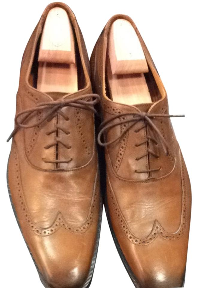 e271257a91a2 Broletto Mens 12 Brown Italian Leather Shoes Image 0 ...