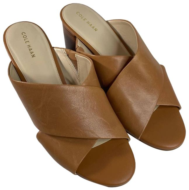 Item - Tan Nwob Dakota Criss Sandal Mules/Slides Size US 8.5 Regular (M, B)