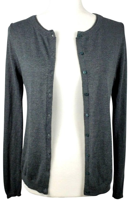 Item - Gray Knit Button Small Nwot Cardigan Size 4 (S)