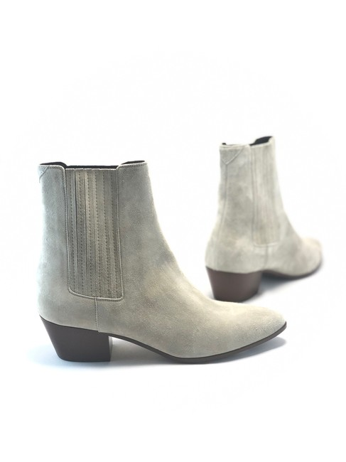 Item - Gray West Suede Chelsea Boots/Booties Size EU 36.5 (Approx. US 6.5) Regular (M, B)