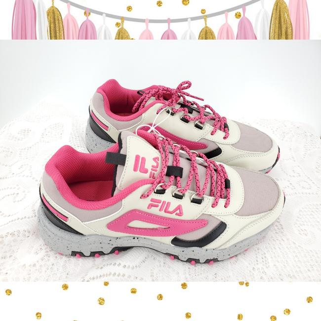 Item - Tan Pink Black Trail Sneakers Size US 9 Regular (M, B)