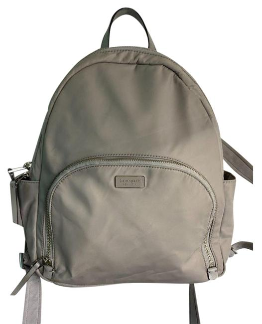 Item - Gray Nylon Backpack