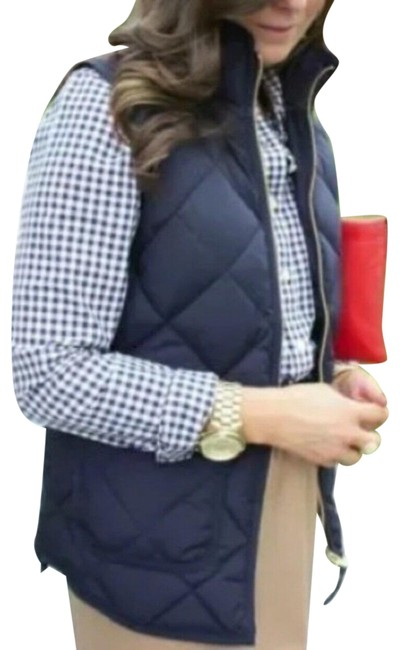 Item - Navy Blue XS Quilted Puffy Down Vest Size 2 (XS)