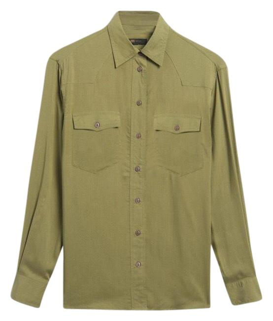 Item - Button-down Top Size 4 (S)