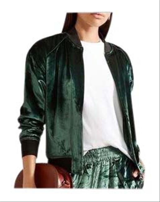 Item - Dark Green Pace Bomber Jacket Size 4 (S)