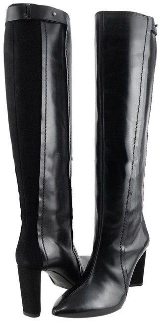 Item - Black Stivale Leather Knee High Boots/Booties Size EU 39 (Approx. US 9) Regular (M, B)