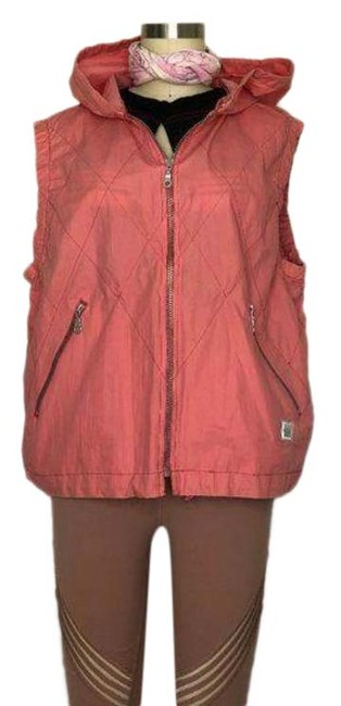 Item - Pink Athleisure Quilted Running Vest Size 12 (L)